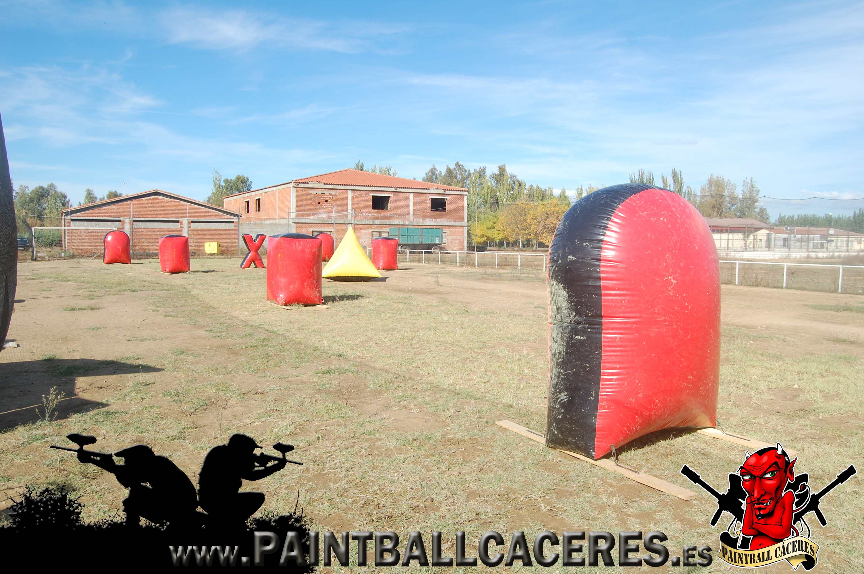 Paintball Movil en Madrigalejo