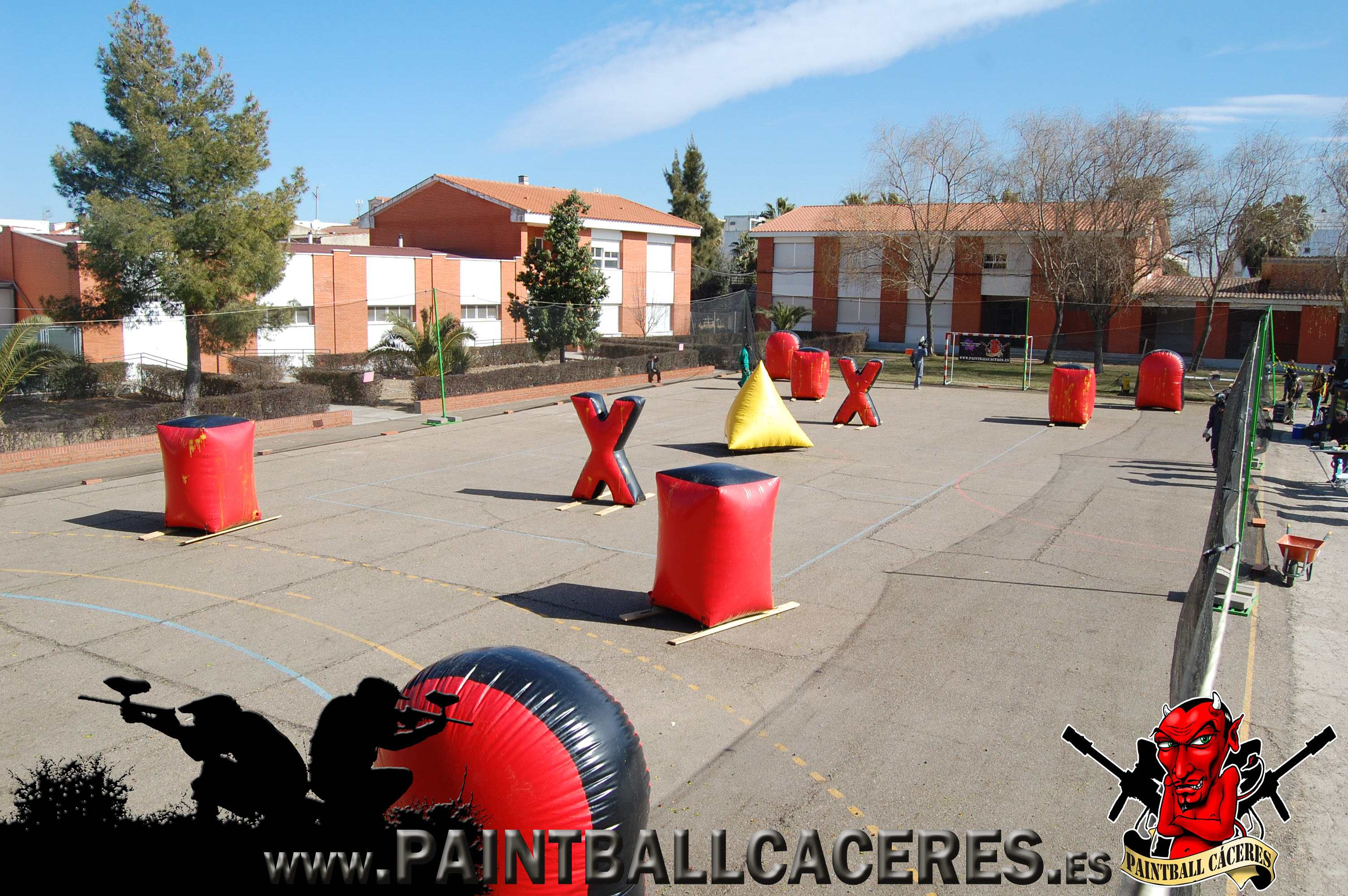 Paintball Movil en Montijo