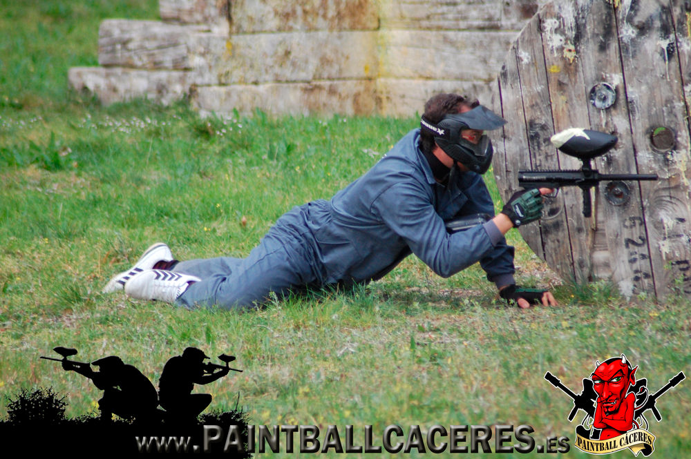 Paintball adultos en Cáceres