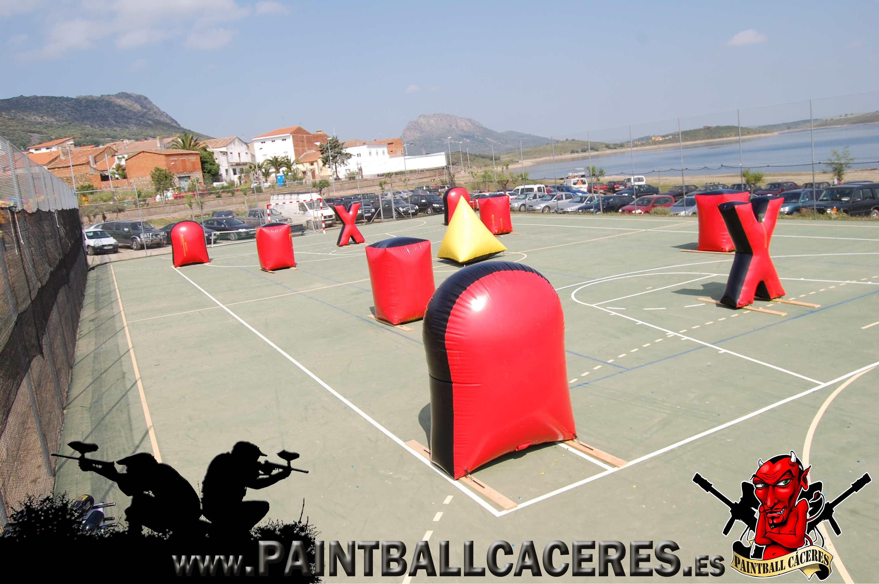 Paintball Movil en Peloche