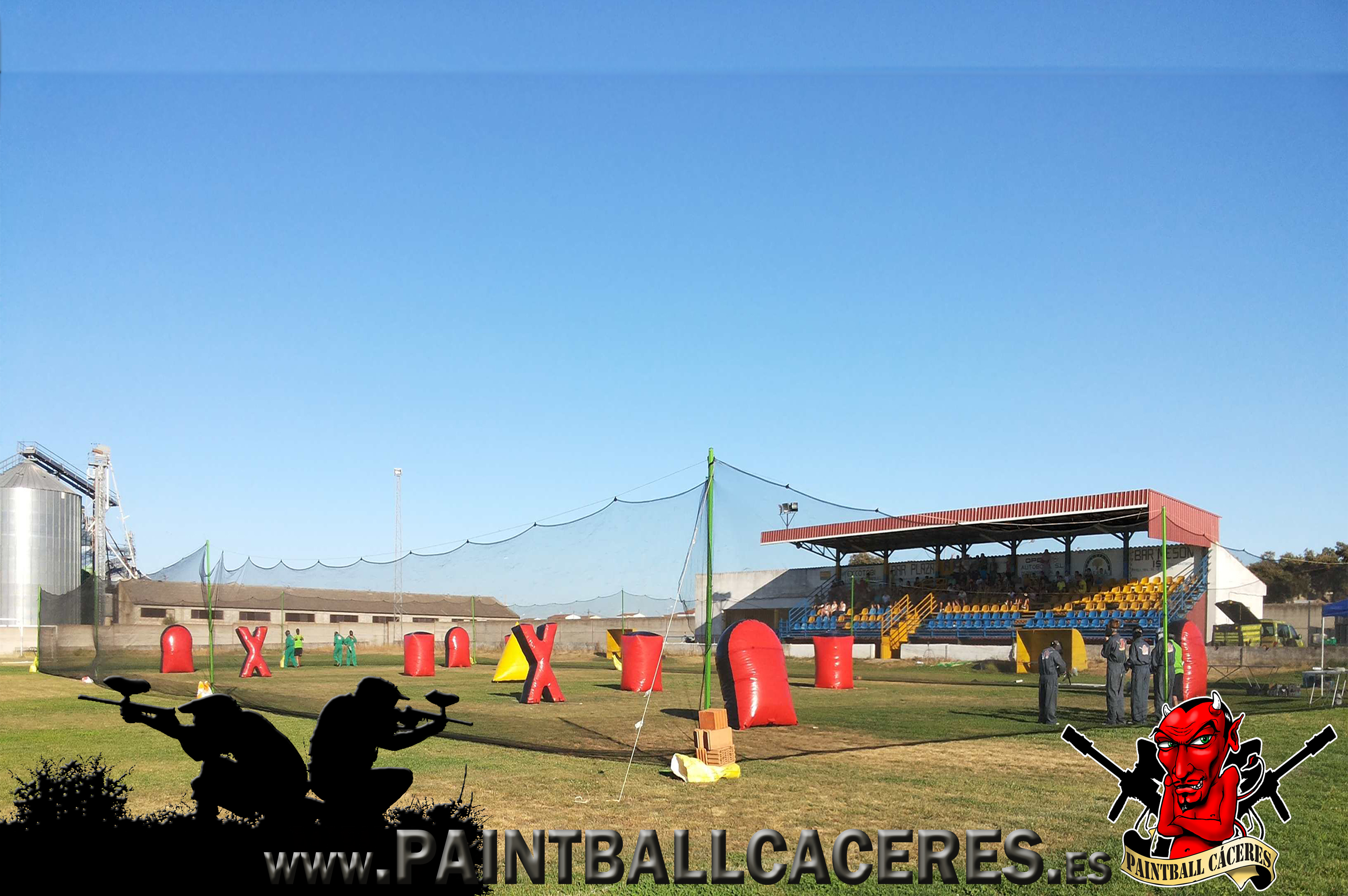 Paintball Movil en Zurbaran